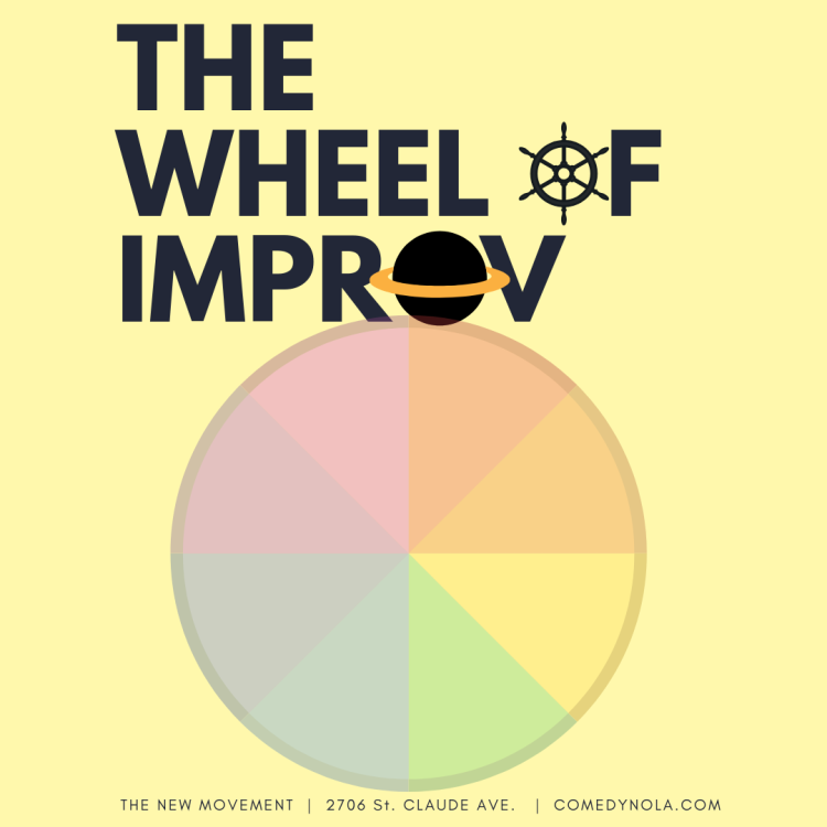 Copy of the wheel of improv